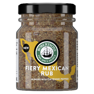 Savoury Robertsons Fiery Mexican Rub